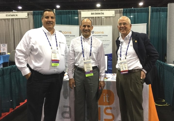 The Abilis Solutions Corp. representatives at the April 2015 Jail Tradeshows